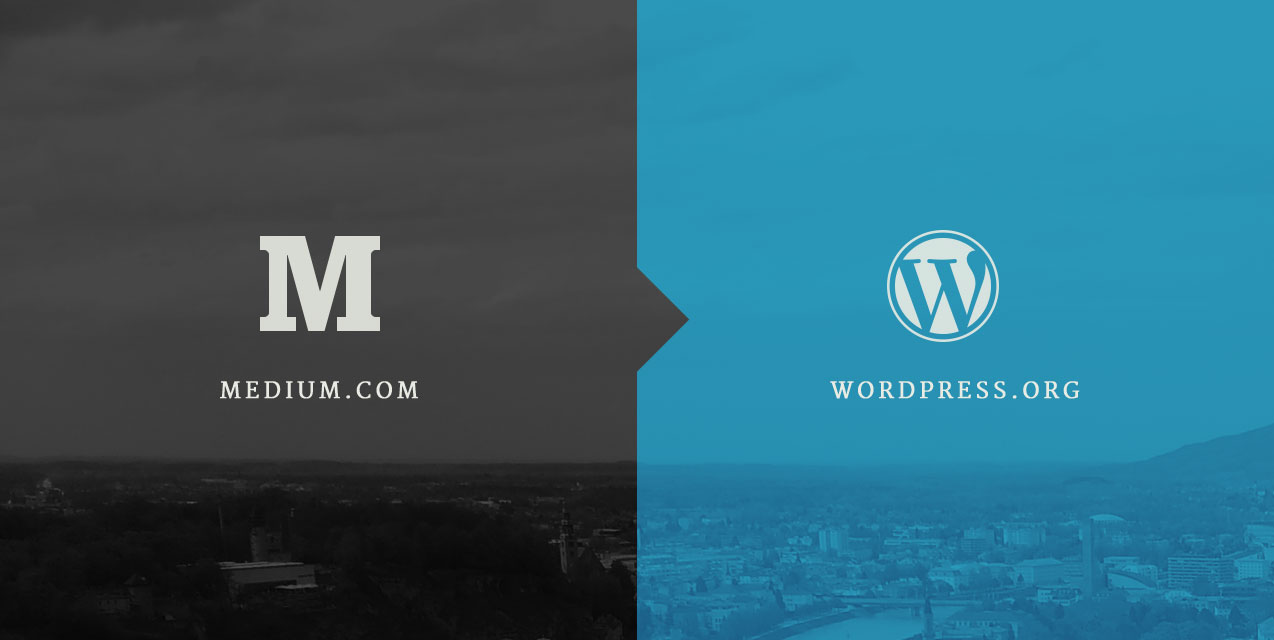 Blogging Medium WordPress